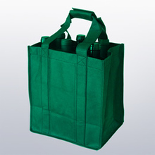 printed customized grocery packaging shopping non woven tote bag