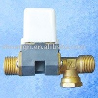 Electromagnetic 2ways valve for solar water heater