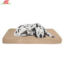 Large Jumbo Memory Foam Dog Bed With Removable Pllush Cover