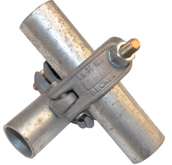 Right Angle Bolt : Zinc plating right angle scaffolding clamps with t bolt