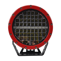 Auto Accessories High Power 277W Red Round Offroad 7 Inch Driving Light with DRL