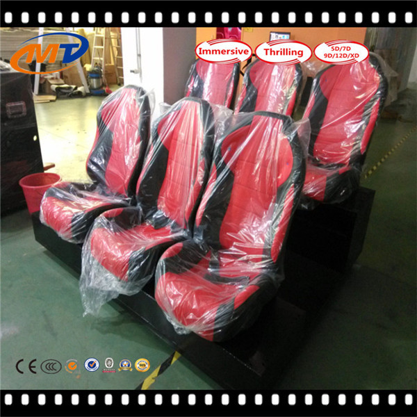 China best investment 7d cinema 7d films simulator theater for 9 person