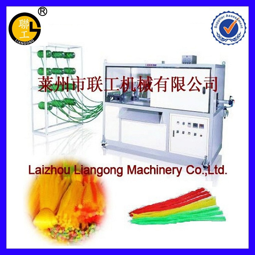 LGSJ Knotless net cable end machine/end cap machine/dished ends machine