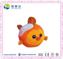 Plush Fat bubble fish baby toy