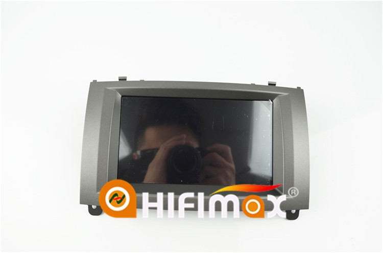 Hifimax Android 8.0 Double Din Car GPS DVD For Peugeot 407 Car Radio Touch Screen Navigation System Octa Core 32G HD1024*600