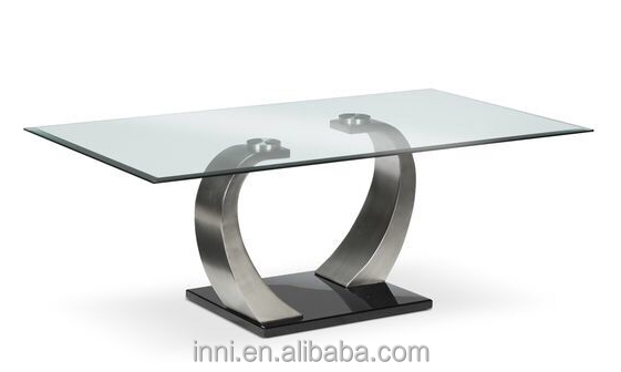 Modern Glass Top Coffee Table #3218