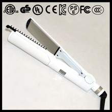 led indicator professional low price hair straightener with removable comb