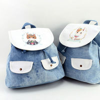 LANGUO kids backpack for school/ school bag with cute cat design model:MGKD-3081