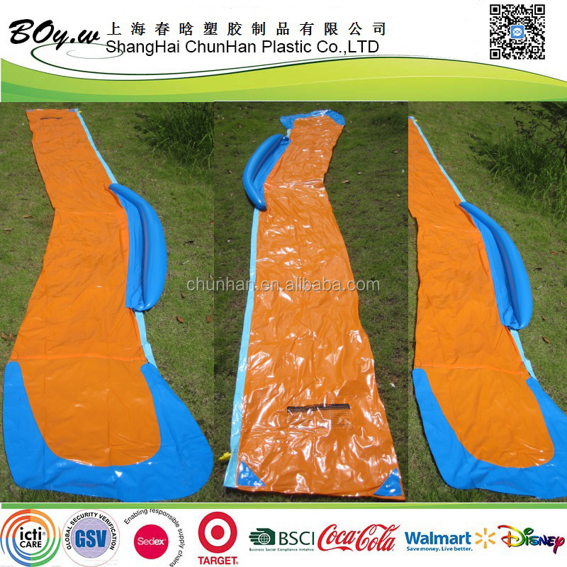 Walmart hot sale spring & summer toys banzai kids play pvc inflatable single water slide