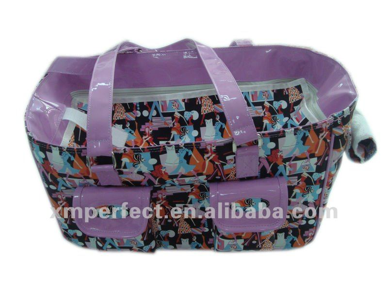Beautiful Pattern Dog Carrier