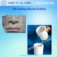 female mask silicone rubber
