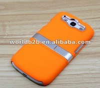 Rubberized Hard Back Case Cover Stand Holster for Samsung Galaxy S3 i9300