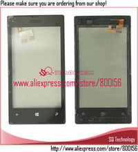 Replacement for Phone Parts Touch Screen Glass For Nokia Lumia 520 Digitizer with Frame Made in China