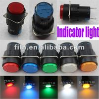 FILN 16mm diameter 25pcs per box Green 24V marine navigation signal light