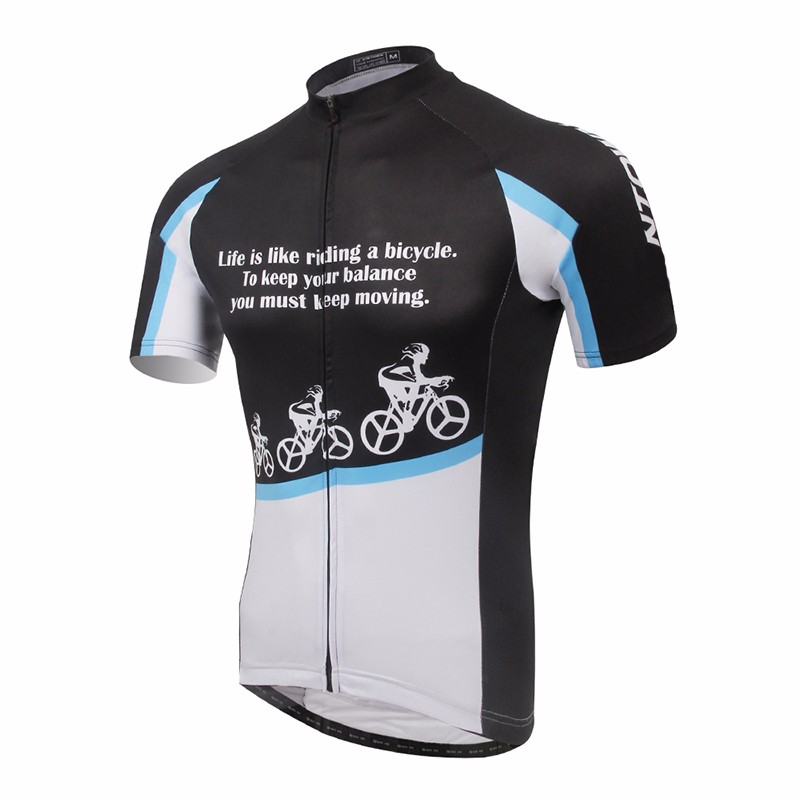 2017 new design custom cheap sublimation cycling blank racing shirts