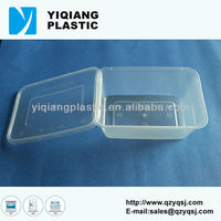 PP plastic vacuum storage container to keep food hot