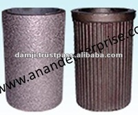 Spiny lock sleeve for aluminium engine block