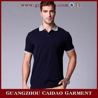 Fashion New Design 100% Cotton Men Classic Pique Polo Shirt