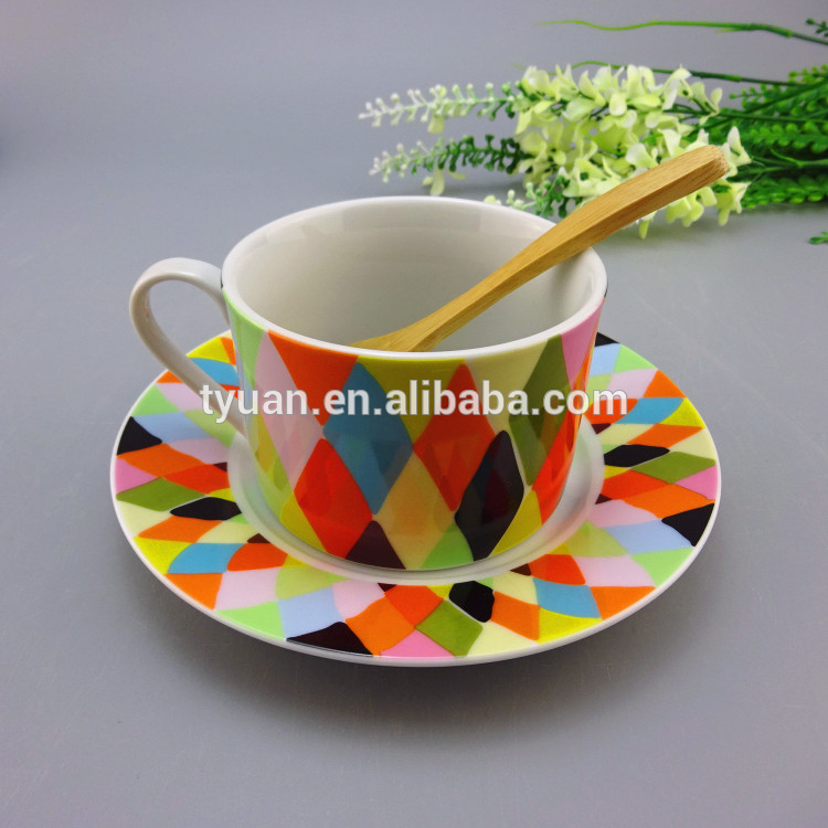 Colorful decal usb coffee cup warmer reusable with lid custom
