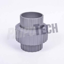 PVC Pipe Fittings Union Coupling Connector Joint for Water Supply