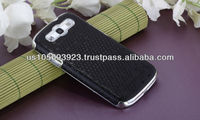 IMPRUE Christams Black Ball Design PU Case For Sumsung Galaxy S3 i9300
