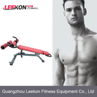 LEEKON LK-9037-16 Fitness Equipment/curved Sit-upBench/indoor gym equipment adjustable ab bench