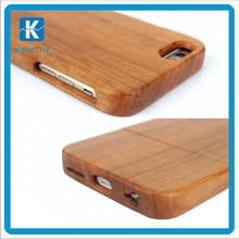 [kayoh] Logo printing acceptable,2017 hot sales wood cell phone case for iPhone 5, wooden smartphone cover for iPhone6