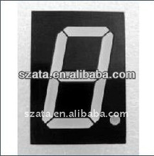 0.25 inch/0.39inch -0.8 inch white color 1 digit 7segment LED display tube