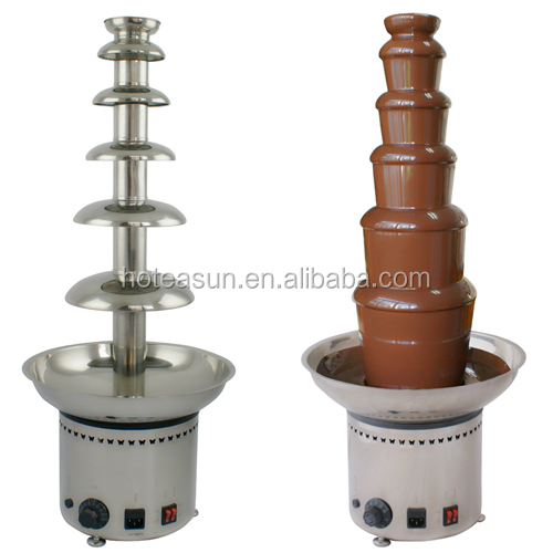 Hot Sale Commercial Use 110v 220v Electric 82cm 6 Tiers Chocolate Fountain Fondue
