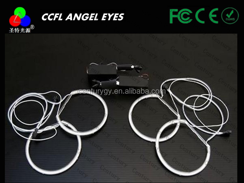 Hot sell 4 rings ccfl E46 angel eyes ring 131mm for car projector lens for head lamp for BMW