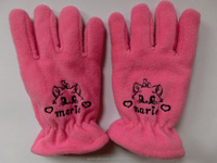 Wholesale winter warm polar fleece women gloves