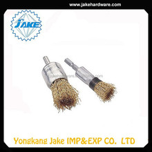 Wholesale New Design Custom Promotional Crimped Brass Wire End Brush