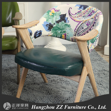 High Tufted Buttoned Leather Dining Chair Hotel bedroom buttoned upholstered writing chairs