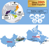 cheap shipping service agent company containers to montreal