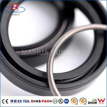 Precision durable NBR/SILICONE/FKM rubber oil seal for pump
