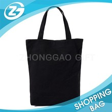 Worldwide Supply 10oz 12oz Recyclable Black Canvas Cotton Tote Bag