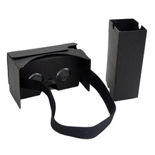 wholesale cheap 3D Glasses high quality Google Cardboard 3D Video Headset VR Glasses free sample google carddboard