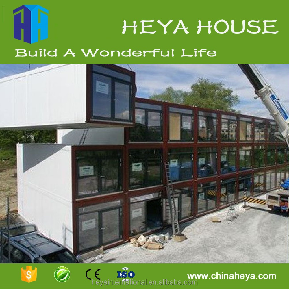 Prefab house portable modular container office for sale China manufacturer