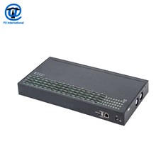 32 channel voip business machine auto sim rotation, goip 32 / 128 port gsm gateway