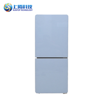 89L more colors Total no frost double door home use refrigerator dimensions refrigerator glass door