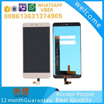 mobile phone spare parts for XiaoMi Redmi note 4 lcd screen