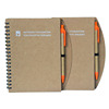 Office Use and Promotional Notepad Custom Brown Kraft Paper Cover Spiral Notebook