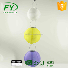 ML - 2553 Hlloween Christmas Decoration Promotional Chinese Round Hanging Paper Lantern