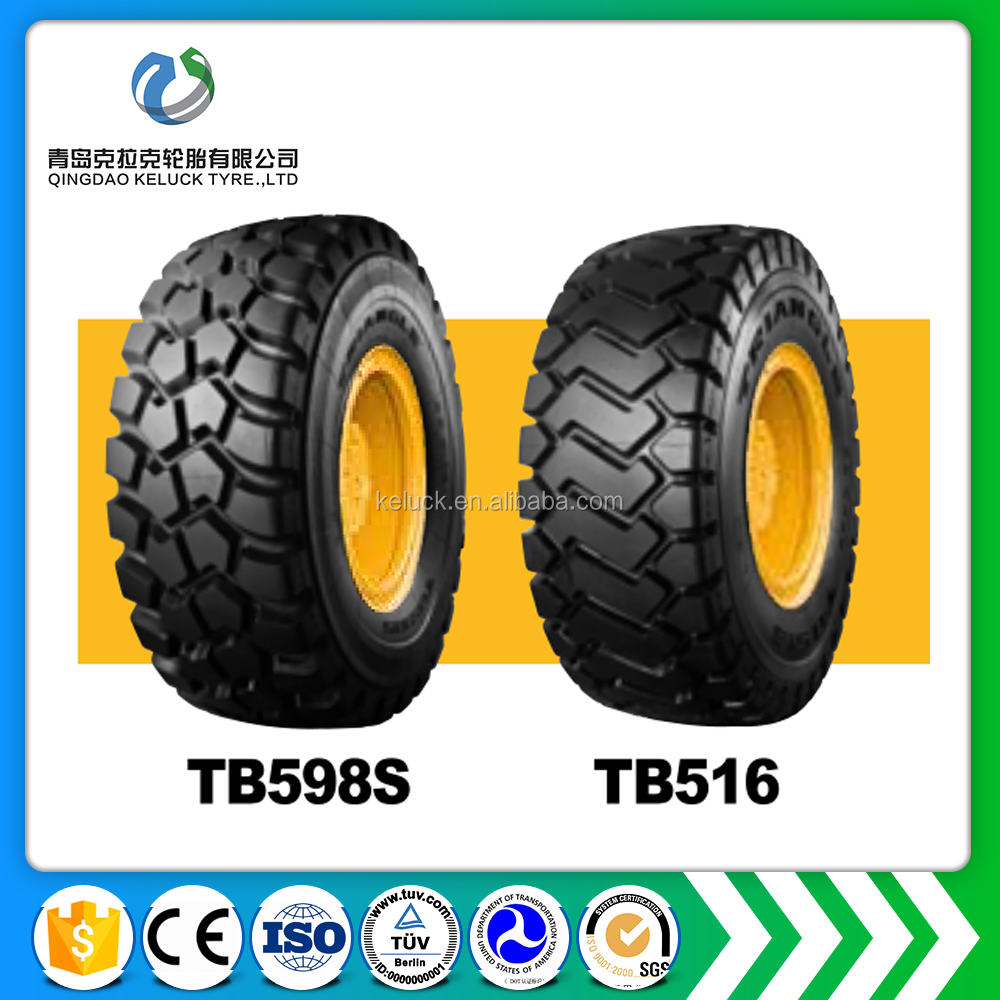 Best quality good price China Hot Selling Triangle Articulated Dump Truck Radia OTR tyres TB598S TB516 23.5R25 26.5R25 29.5R25