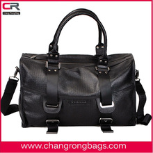 2014 fashion and designer men leather travel bag made in China
