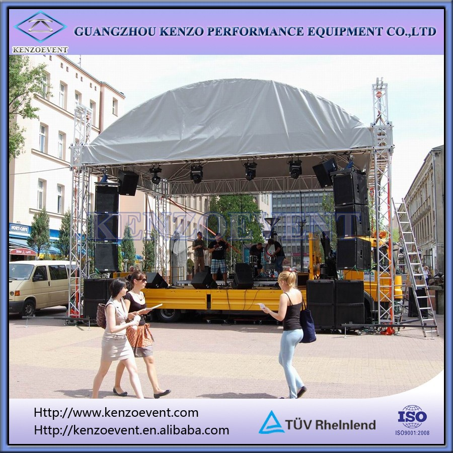 Lighting Truss Lifting/curved Aluminum Truss/lighting Tower Truss