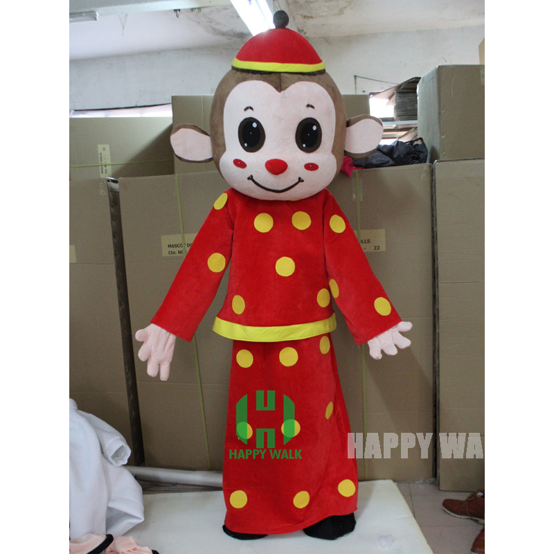 High quality <strong>Monkey</strong> mascot costume for sale!! New year mascot costumes for sale!!