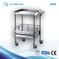 Hospital/Medical Instrument Stainless Steel Cart