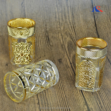 Tea Cup Gold Plated Moroccan Tea Glasses