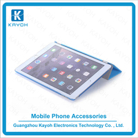 [kayoh] Customized wholesale cheap filp case for iPad mini 1/2/3 pu leather case